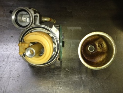 Carburator aangetast door slechte benzine